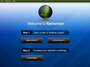 Rankerizer home