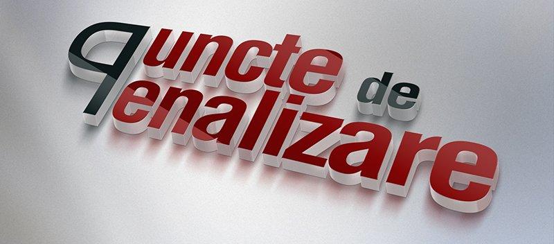 PUNCTE DE PENALIZARE
